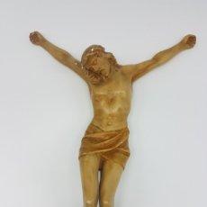 Antigüedades: IMAGEN DE JESUS ( PARA RESTAURAR ) EN YESO. Lote 173986608