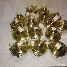 Antigüedades: 15 MAQUINAS DE QUINQUE CON SU MECHA. . Lote 173987980