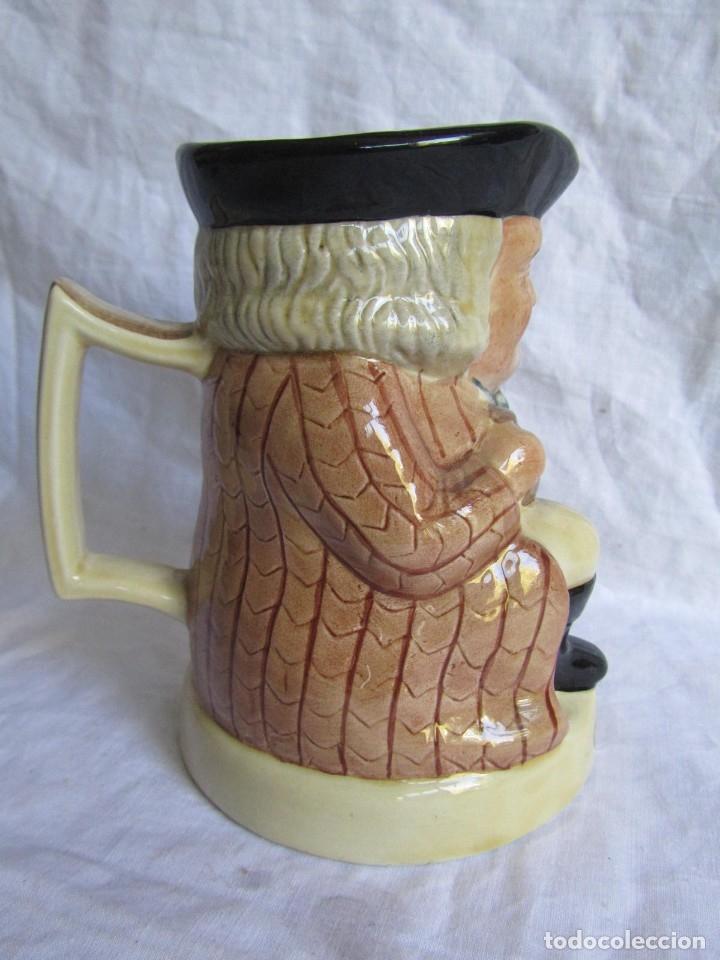 Antigüedades: Jarra cerámica Chivas Regal Tony Wood - Foto 2 - 173989752