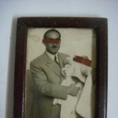 Antigüedades: PORTAFOTO ANTIGUO EN MADERA. Lote 173996192