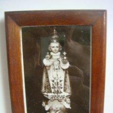 Antigüedades: PORTAFOTO ANTIGUO EN MADERA. Lote 173996242