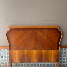 Antigüedades: CABEZAL DE CAMA DE 156 CM. DE LARGO. Lote 174003719
