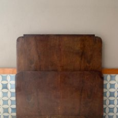 Antigüedades: CABEZAL Y PIE DE CAMA , DE 97,50 CM. DE LARGO (SUPER PEQUEÑA) REF, # 8. Lote 174012573