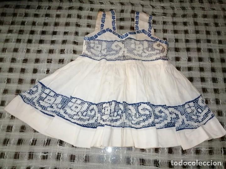 ANTIGUO VESTIDO BEBE (Antigüedades - Moda y Complementos - Infantil)