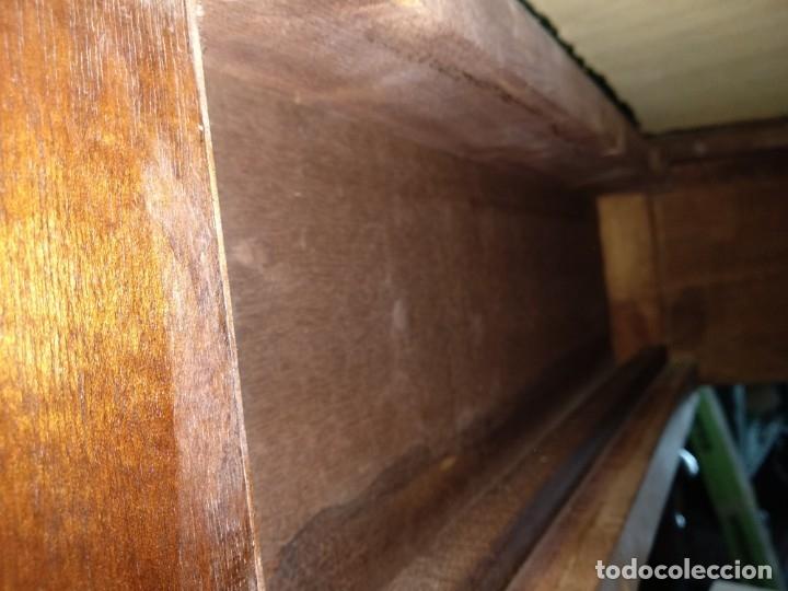 Antigüedades: Mesa de despacho clásica. - Foto 9 - 136520030
