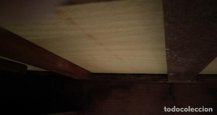 Antigüedades: Mesa de despacho clásica. - Foto 10 - 136520030