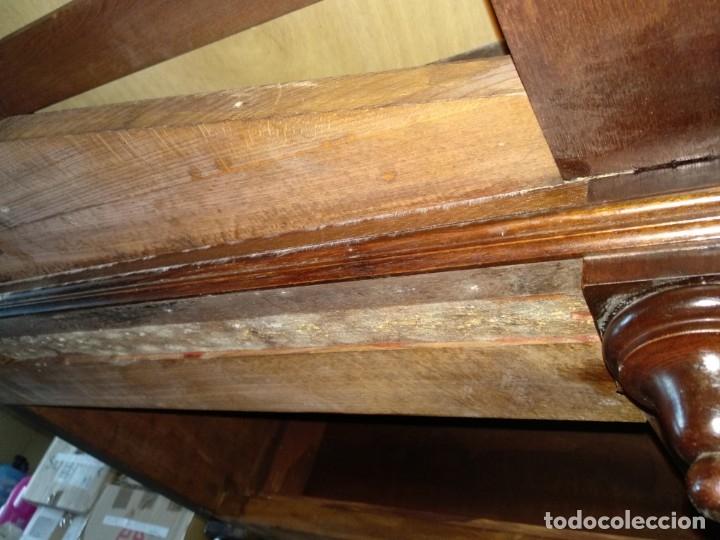 Antigüedades: Mesa de despacho clásica. - Foto 15 - 136520030