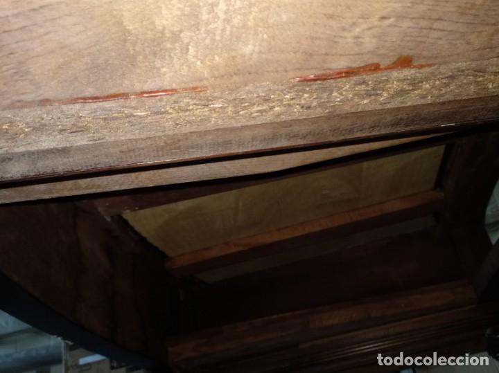 Antigüedades: Mesa de despacho clásica. - Foto 17 - 136520030