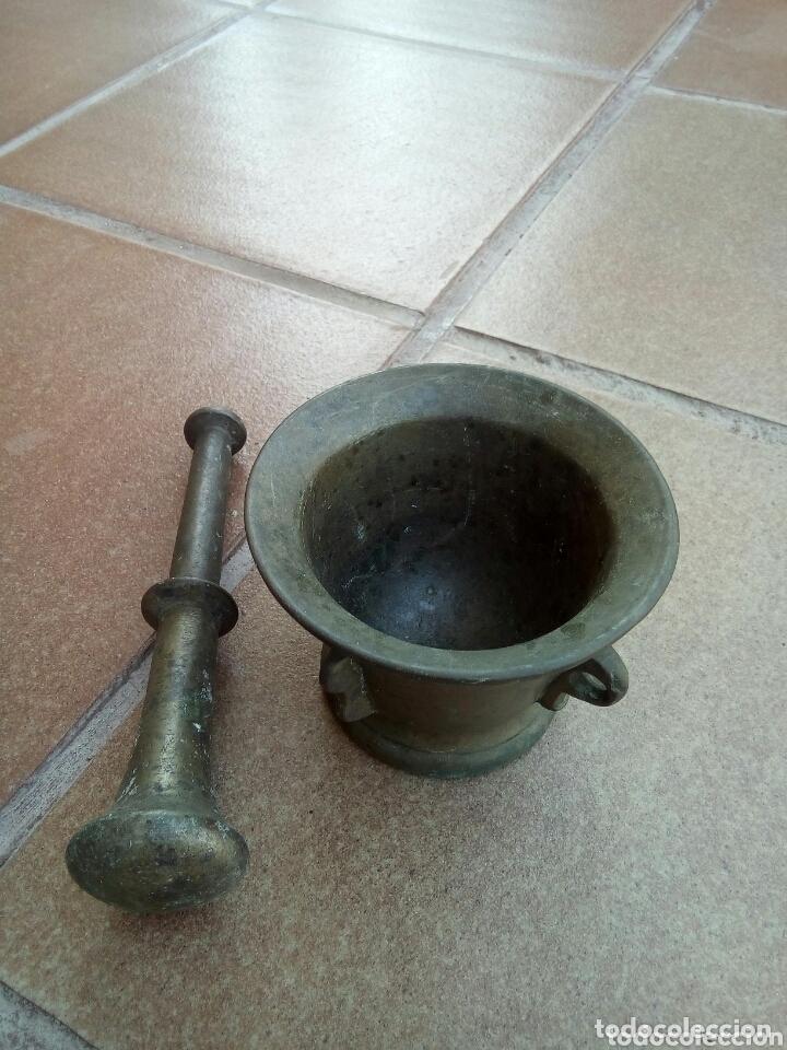 Antigüedades: ANTIGUO MORTERO - Foto 2 - 174022744