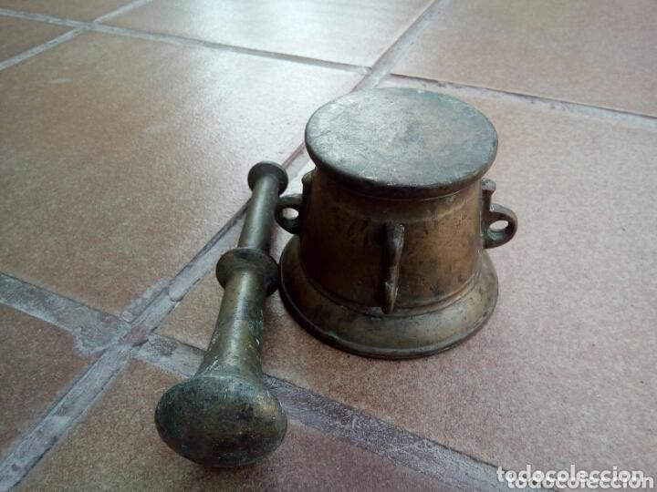 Antigüedades: ANTIGUO MORTERO - Foto 7 - 174022744