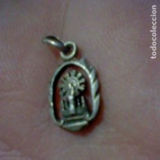 Antigüedades: VIRGEN PILAR MEDALLA CALADA . Lote 174029208