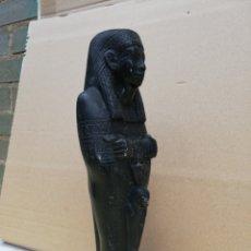 Antigüedades: IMPRESIONANTE ESCULTURA EGIPCIA SIGLO XIX. Lote 174032027
