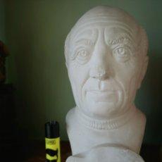 Antigüedades: BUSTO DE PICASSO EN ESCAYOLA. Lote 174032073