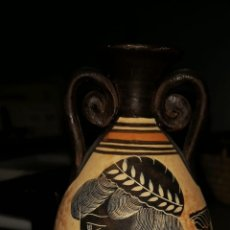 Antigüedades: MINI JARRÓN ÁFRICA SIGLO XIX. Lote 174033355