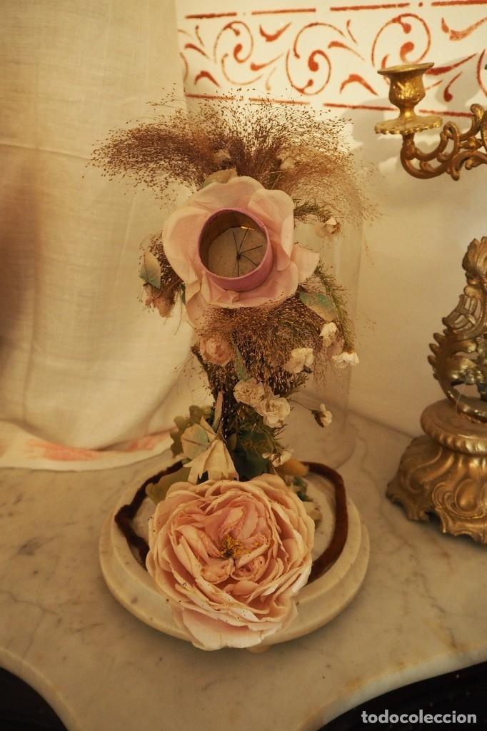 Antigüedades: Flor en fanal - Foto 2 - 174040358