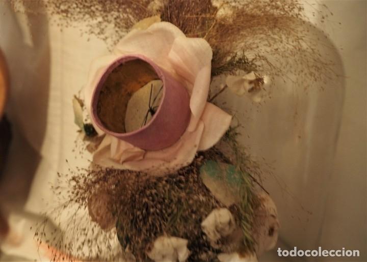 Antigüedades: Flor en fanal - Foto 3 - 174040358