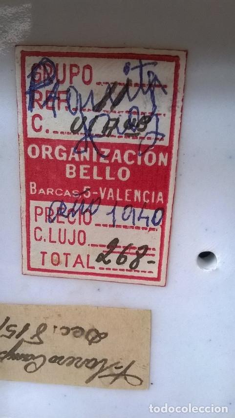 Antigüedades: FLORERO CAMPANA AÑO 1940 - Foto 9 - 174046635