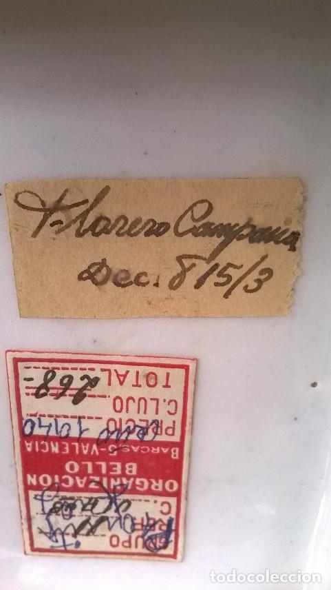 Antigüedades: FLORERO CAMPANA AÑO 1940 - Foto 11 - 174046635