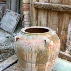 Antigüedades: TINAJA MUY ANTIGUA DE 4 ASAS. Lote 174048358
