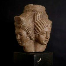 Antigüedades: ESTATUA DE PIEDRA CALIZA. Lote 174061934