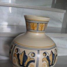 Antigüedades: JARRÓN CERÁMICA. CHACON. TALAVERA. Lote 174070132