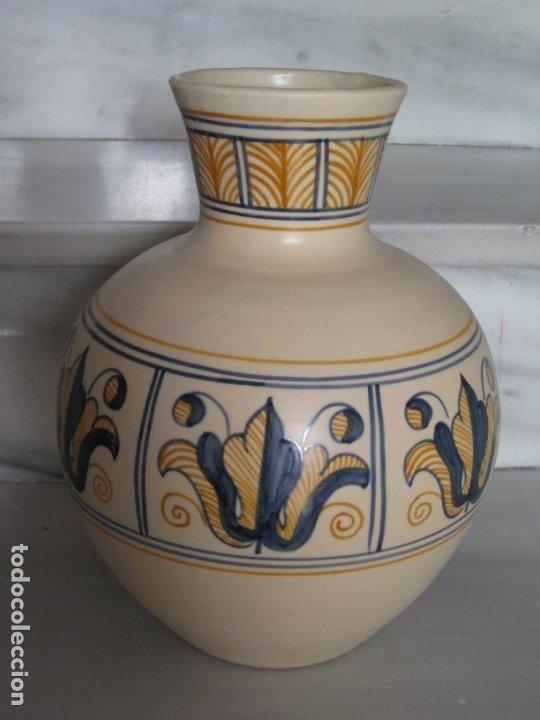 Antigüedades: Jarrón cerámica. Chacon. Talavera - Foto 6 - 174070132