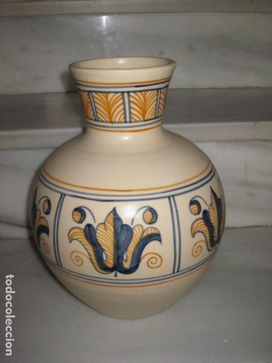 Antigüedades: Jarrón cerámica. Chacon. Talavera - Foto 7 - 174070132