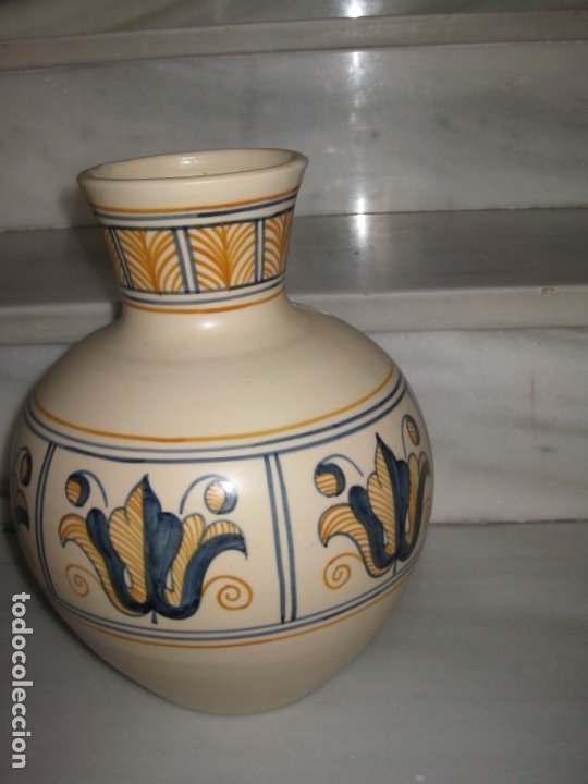 Antigüedades: Jarrón cerámica. Chacon. Talavera - Foto 8 - 174070132