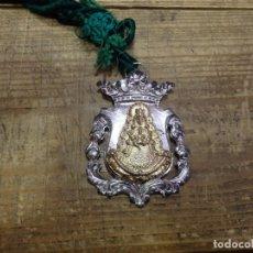 Antigüedades: MEDALLA CON CORDON HERMANDAD DEL ROCIO DE TRIANA. Lote 182942672