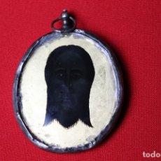 Antigüedades: EXCELENTE RELICARIO , SANTA FAZ Y VIRGEN. Lote 180491311