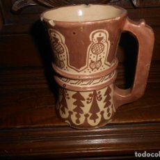 Antigüedades: JARRA DE REFLEJOS ESPAÑOLA ANTIGUA. Lote 174099955