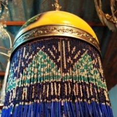 Antigüedades: PRECIOSA LAMPARA DE TECHO ART DECO, DE MUSEO. Lote 174108842
