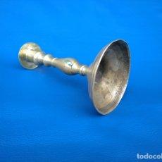 Antigüedades: CANDELABRO DE 20 CENTÍMETROS DE ALTO. Lote 174128280
