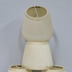 Antigüedades: 4 TULIPAS O PANTALLAS PARA APLIQUES O LAMPARA. Lote 174137824