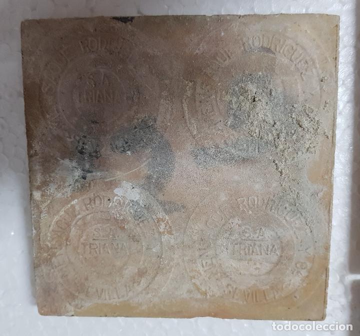 "Antigüedades: RETABLO CERAMICO ""Mater Dolorosa"" de Mensaque Triana Sevilla 1918 -1920 Maestro M. Morilla - Foto 9 - 174156723"