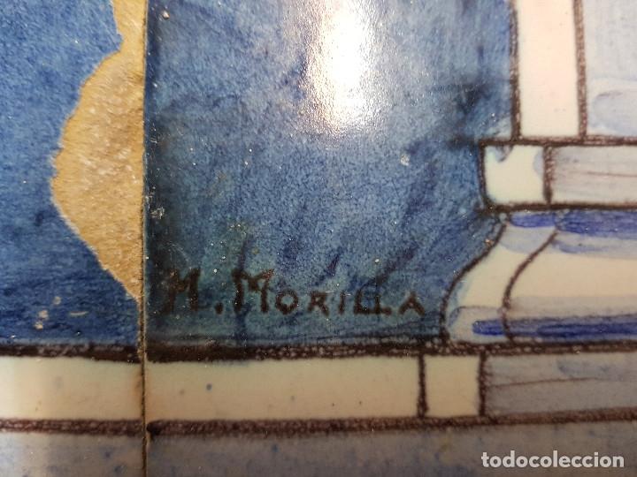 "Antigüedades: RETABLO CERAMICO ""Mater Dolorosa"" de Mensaque Triana Sevilla 1918 -1920 Maestro M. Morilla - Foto 14 - 174156723"