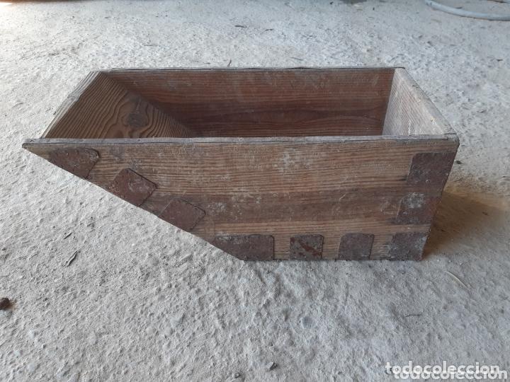 Antigüedades: MEDIDA DE GRANO. - Foto 4 - 174190408