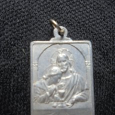 Antigüedades: MEDALLA ALUMINIO 1ª COMUNIÓN. Lote 174213250