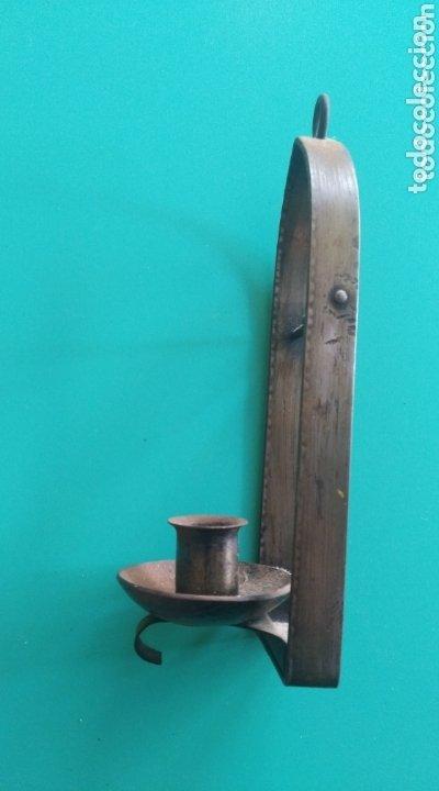 Antigüedades: Candelero colgante - Foto 2 - 174224088