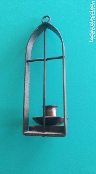 Antigüedades: Candelero colgante - Foto 3 - 174224088