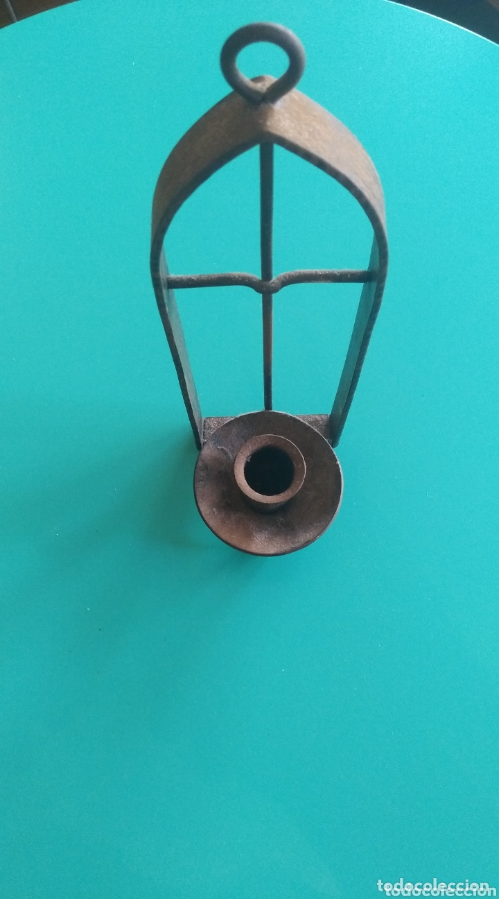 Antigüedades: Candelero colgante - Foto 4 - 174224088