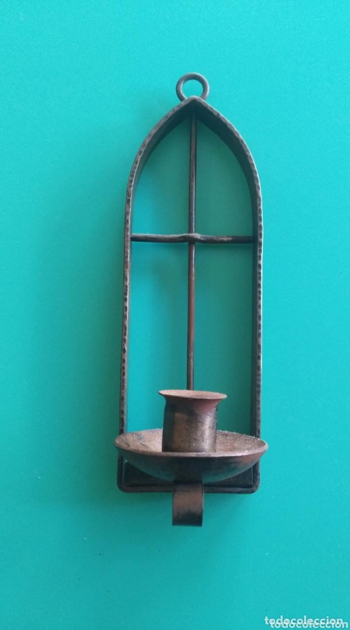 CANDELERO COLGANTE (Antigüedades - Iluminación - Candelabros Antiguos)