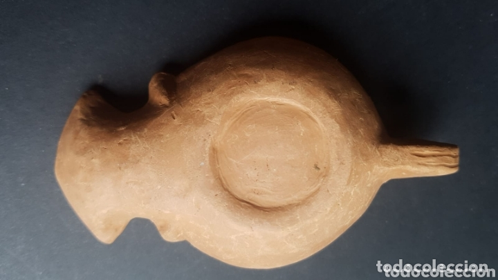 Antigüedades: Réplicas lampara de aceite lucerna de cerámica estilo romano - Foto 2 - 174238312