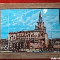 Antigüedades: CUADRO DE AZULEJOS CATEDRAL DE SANTA MARIA. Lote 174242297