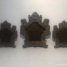 Antigüedades: SACRAS DE BRONCE ANTIGUAS PARA RESTAURAR.. Lote 174249722