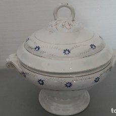 Antigüedades: ANTIGUA SOPERA OPAQUE FRANCESA CON SELLO ILEGIBLE. Lote 174250332