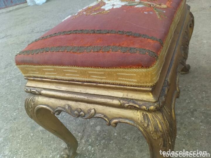 Antigüedades: DESCALZADORA DORADA - Foto 2 - 174258548