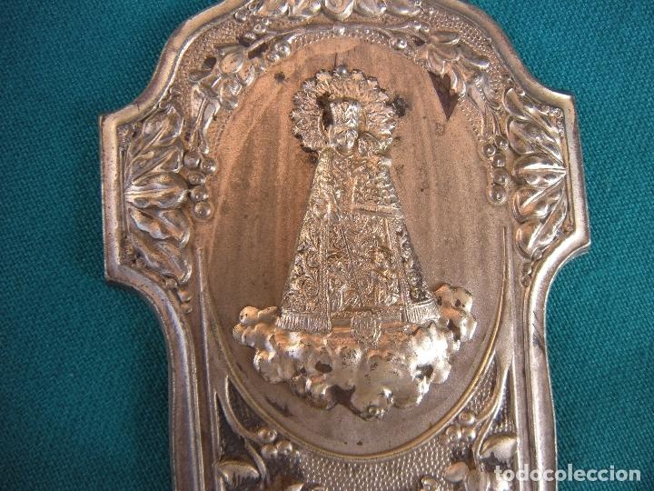 Antigüedades: BENDITERA NUESTRA SEÑORA DE LOS DESAMPARADOS - Foto 3 - 174274074