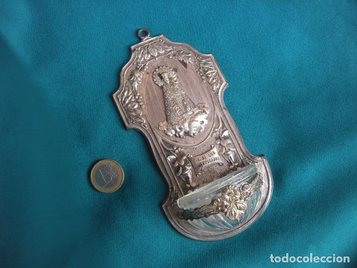 Antigüedades: BENDITERA NUESTRA SEÑORA DE LOS DESAMPARADOS - Foto 5 - 174274074