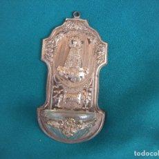 Antigüedades: BENDITERA NUESTRA SEÑORA DE LOS DESAMPARADOS. Lote 174274074